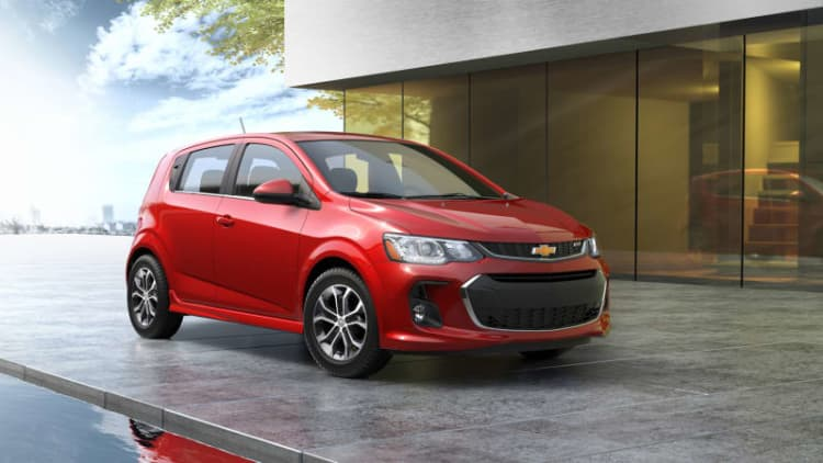 Report: Chevrolet to kill Sonic, Ford to end Fiesta and Taurus
