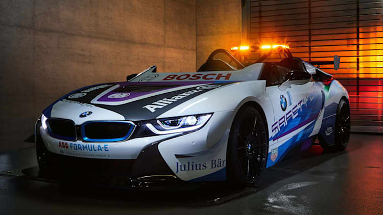 This BMW i8 Roadster is the new Formula E Safety Car