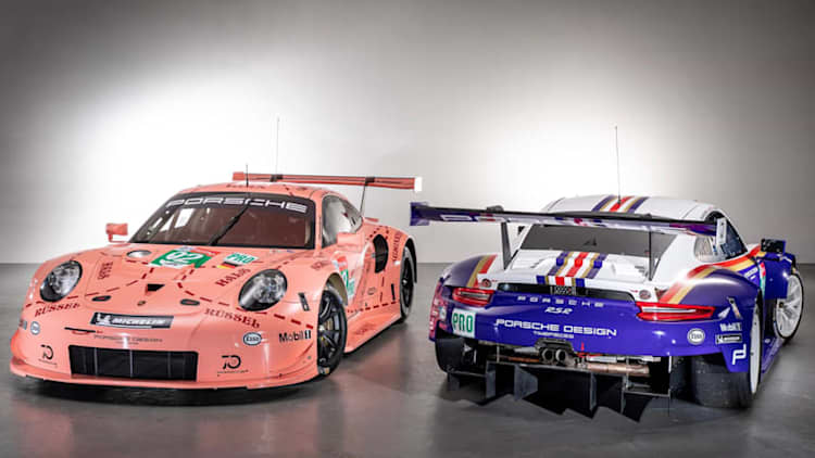 Porsche revives Pink Pig and Rothman's liveries for Le Mans