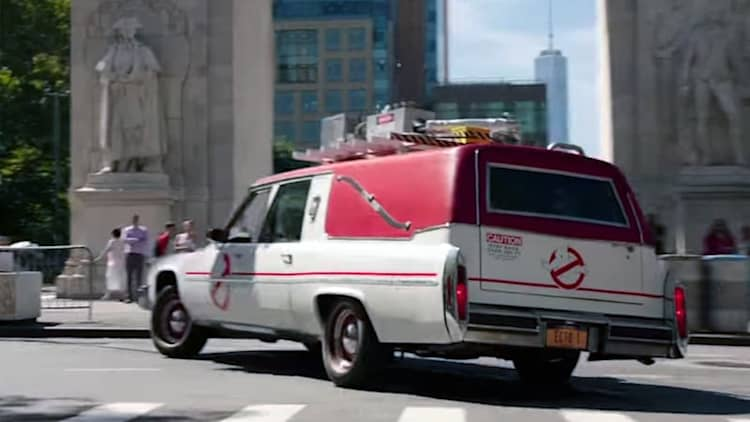 Ghostbusters' Ecto-1 detailed in behind-the-scenes video