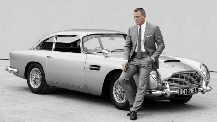 The 007 Best James Bond Cars