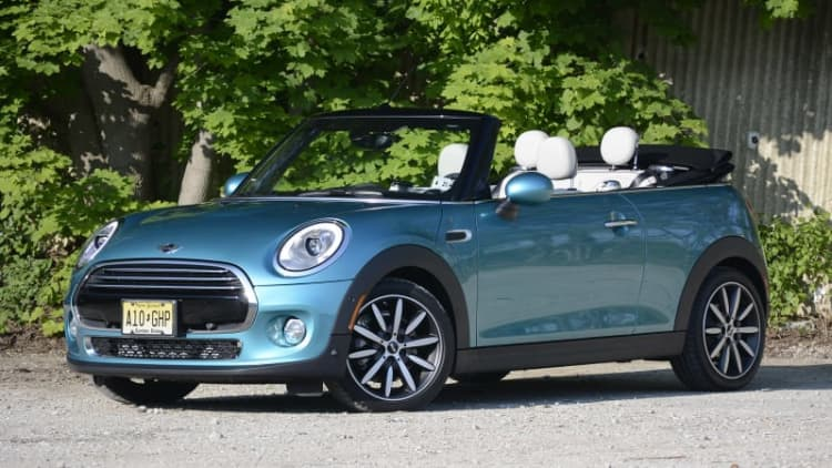 2016 Mini Cooper Convertible First Drive