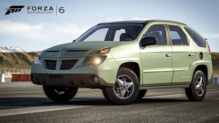 New Forza 6 car pack will let you race the Pontiac Aztek