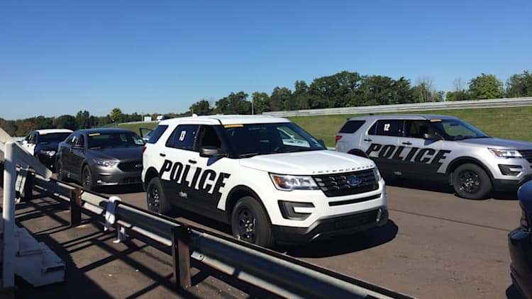 Ford Police Interceptors dominate Michigan State Police testing
