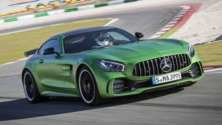 The downforce awakens   2018 Mercedes-AMG GT R First Drive