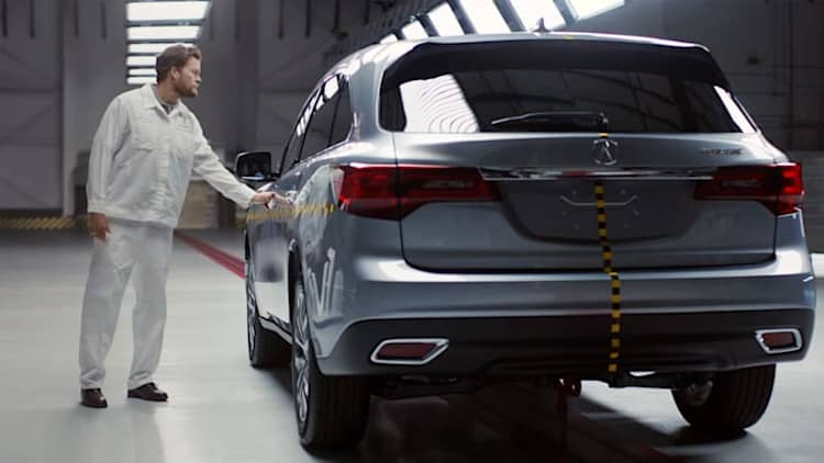 Acura touts full-line Top Safety Pick+ achievement in new ad