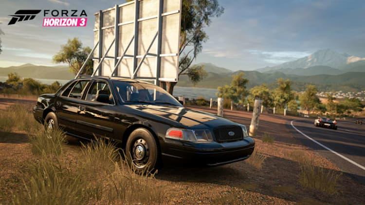 Forza Horizon 3 adds Ford Police Interceptor, Jeep CJ5