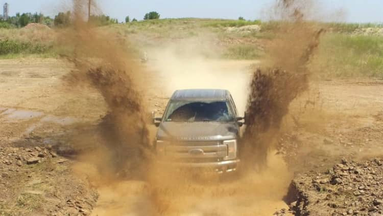 Should heavy-duty pickup trucks have window stickers with fuel mileage estimates?