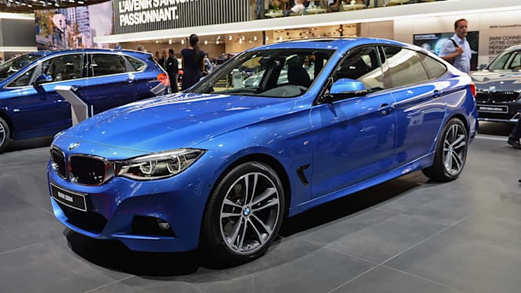 Refreshed BMW 3 Series GT comes to Paris with power bump