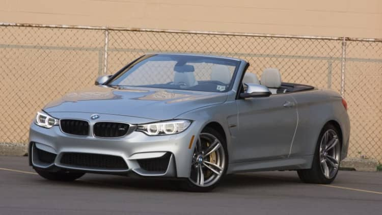 2015 BMW M4 Convertible Quick Spin [w/video]