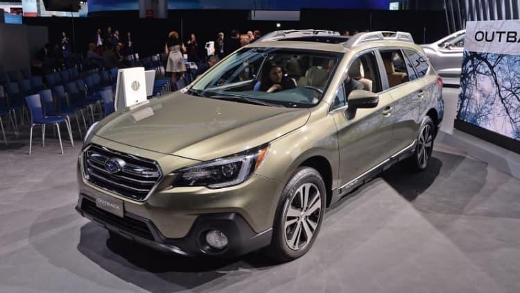 2018 Subaru Legacy starts at $23,055, Outback at $26,810
