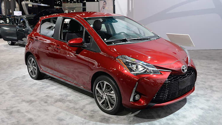 2018 Toyota Yaris gets a meager refresh but a carryover powertrain