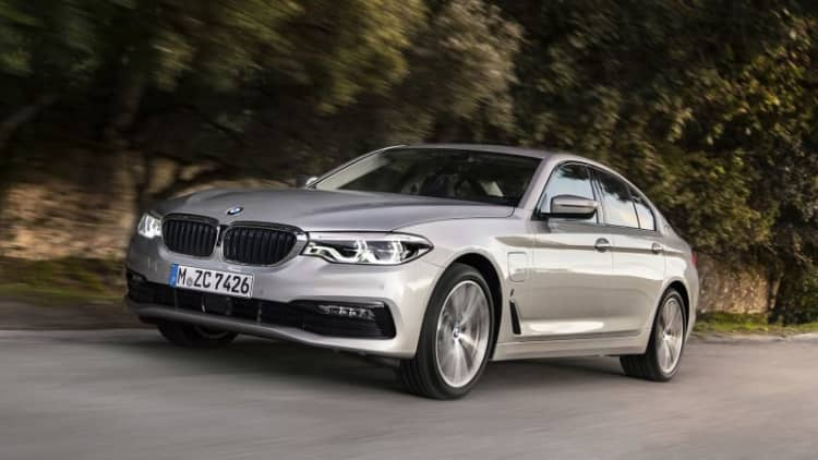 Plugging into a better future   2018 BMW 530e iPerformance First Drive