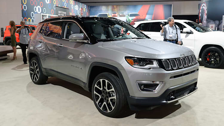 2017 Jeep Compass is finally a compact crossover worthy of its badge