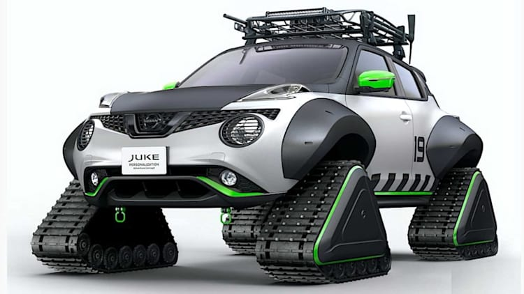 Nissan Juke snowmobile heading to Tokyo Auto Salon with more outlandish style than before