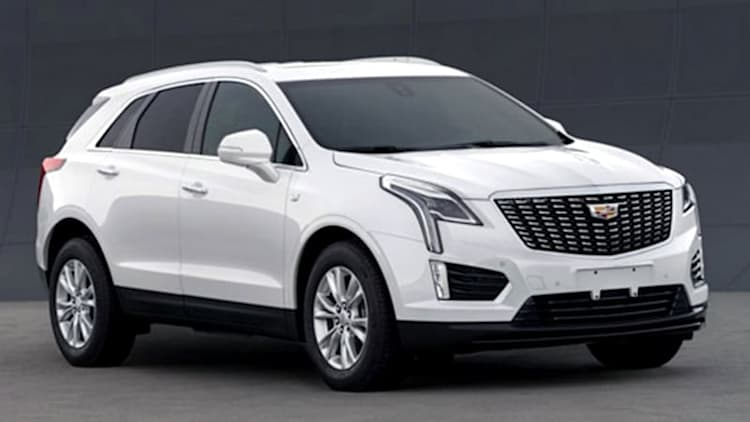 2020 Cadillac XT5 leaks onto web, adopts elements from smaller XT4