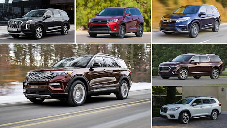 2020 Ford Explorer vs 3-row crossover rivals: How they compare on paper