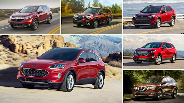 2020 Ford Escape vs compact crossover rivals: How they compare on paper