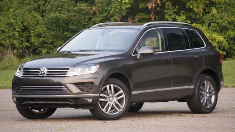 2015 Volkswagen Touareg TDI Quick Spin [w/video]