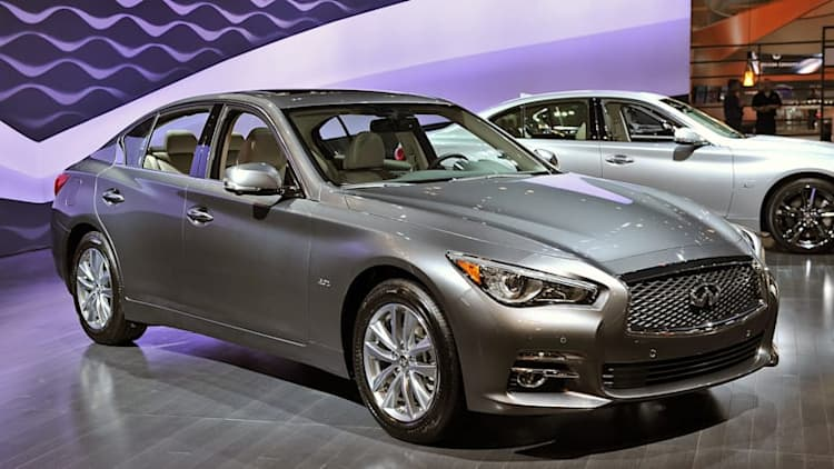 Infiniti prices Q50 2.0t from $34,855, hybrid from $47,955
