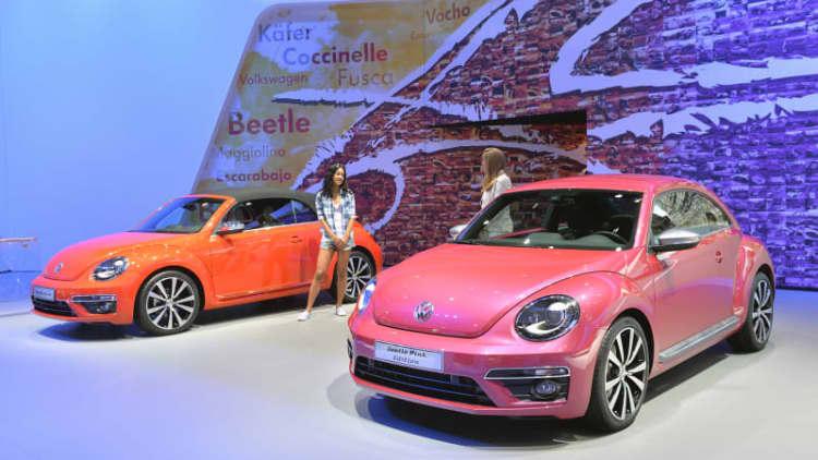 VW Beetle is not dead yet