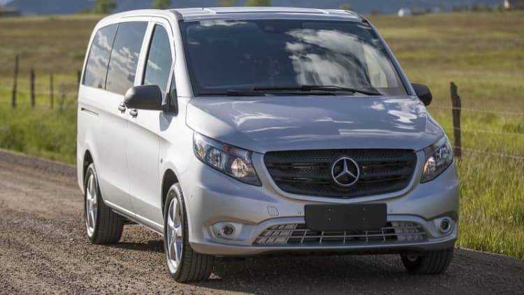 On Location at Mercedes-Benz Van Camp in the Rocky Mountains