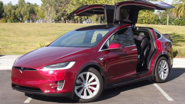 Tesla recalling 53,000 vehicles for parking brake issue