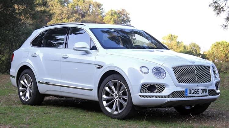 Bentley is recalling  just 88 Bentaygas for loose screws