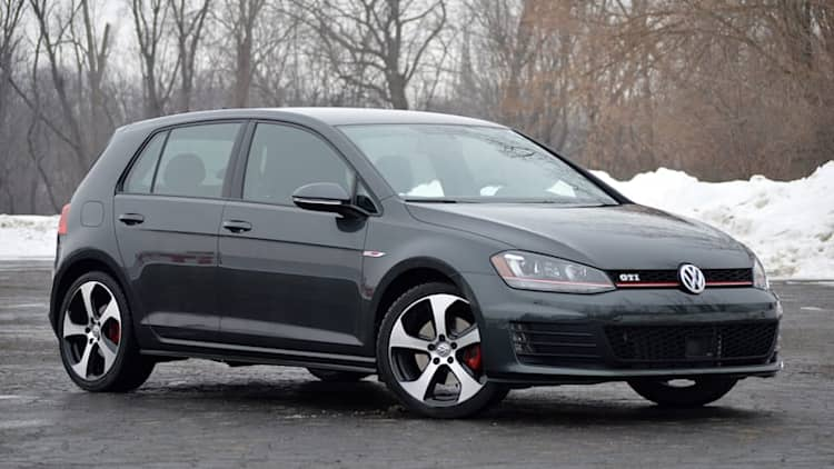 The Volkswagen GTI was our daily driver of choice