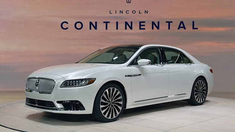 Lincoln may add suicide doors to future Continental