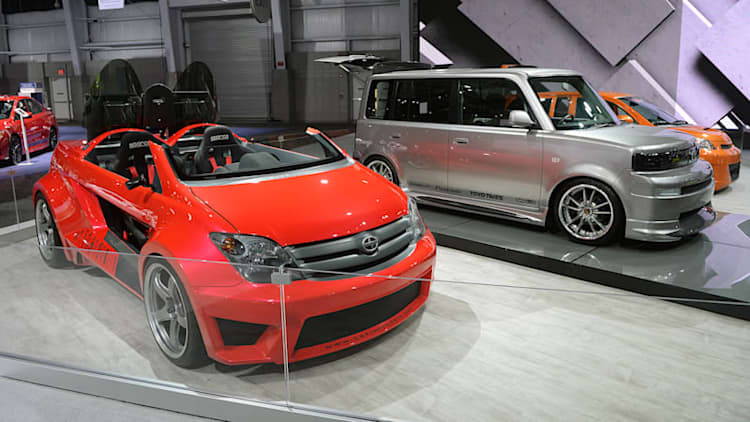 Scion rolls out its past concepts, one last time