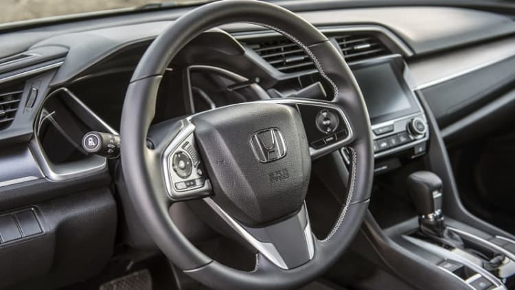 Honda airbags are being stolen