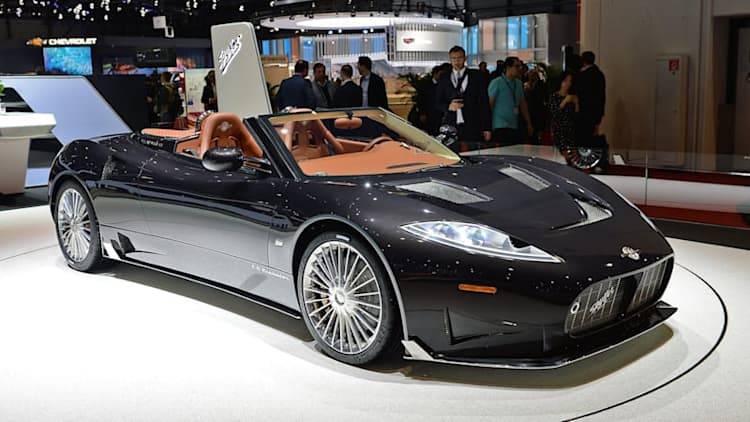 Spyker C8 Preliator to run Koenigsegg V8 engine