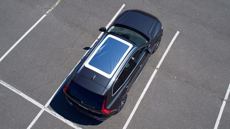 Watch solar eclipse from your new Volvo XC60 — through this sunroof cover