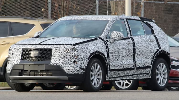 Cadillac clears camo off the XT3 revealing grille, lighting details