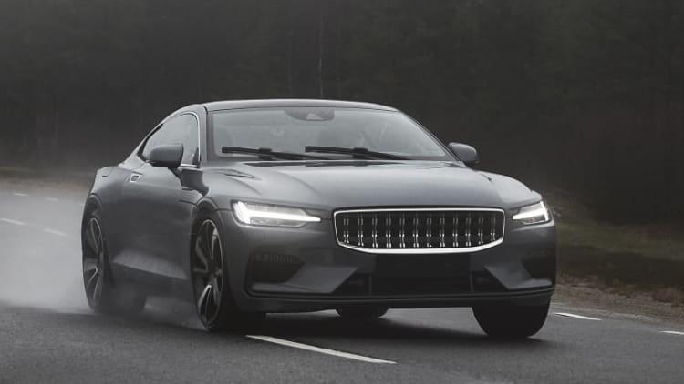 Watch as Polestar 1 moves closer to super coupe reality