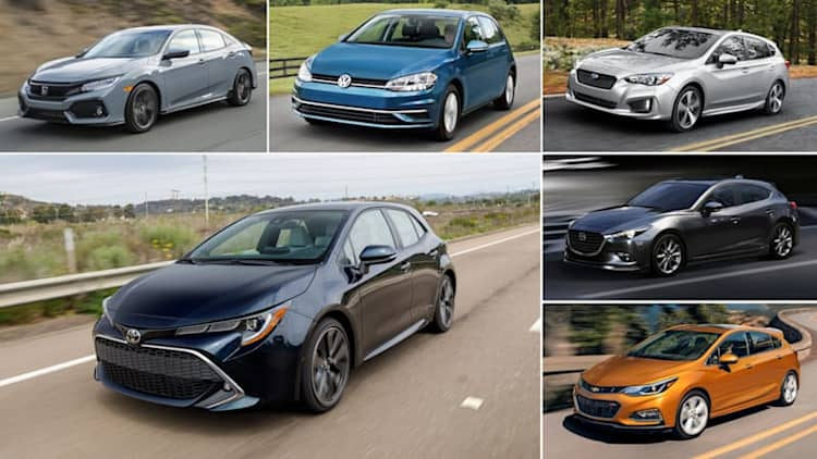 2019 Toyota Corolla vs. compact hatchbacks: How they compare