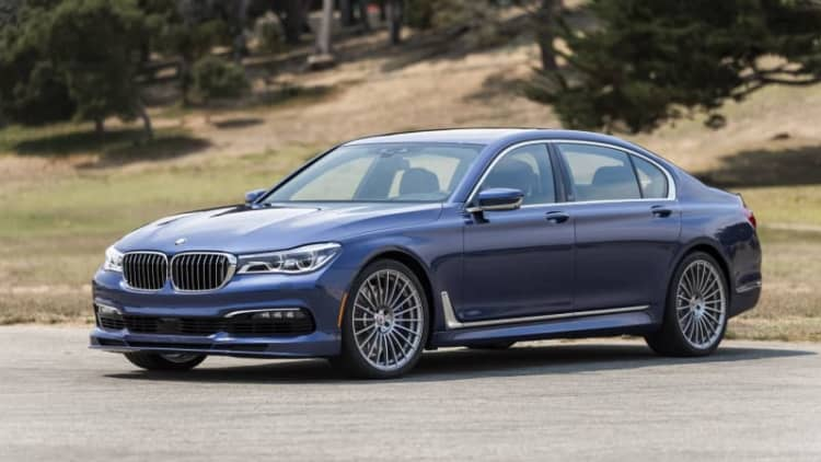 2018 BMW Alpina B7 xDrive Drivers' Notes Review | Bavarian blue bombshell