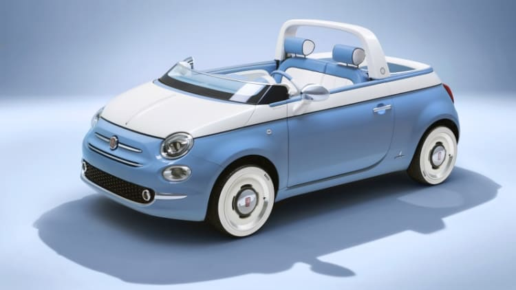 Jolly time: Fiat's Spiaggina concept honors the 1958 beach classic