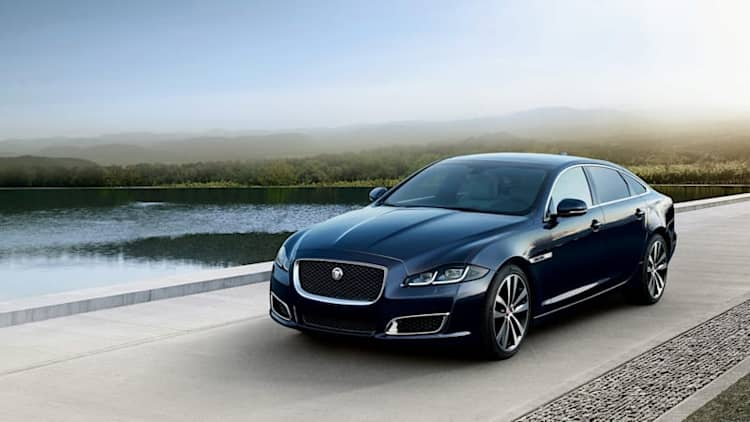 2019 Jaguar XJ50 is a supercharged birthday present