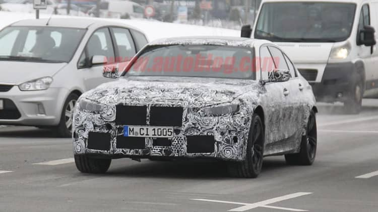 2020 BMW M3 spied testing in Europe