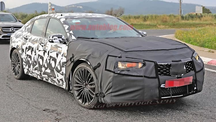 Acura spotted testing high-performance TLX sedan