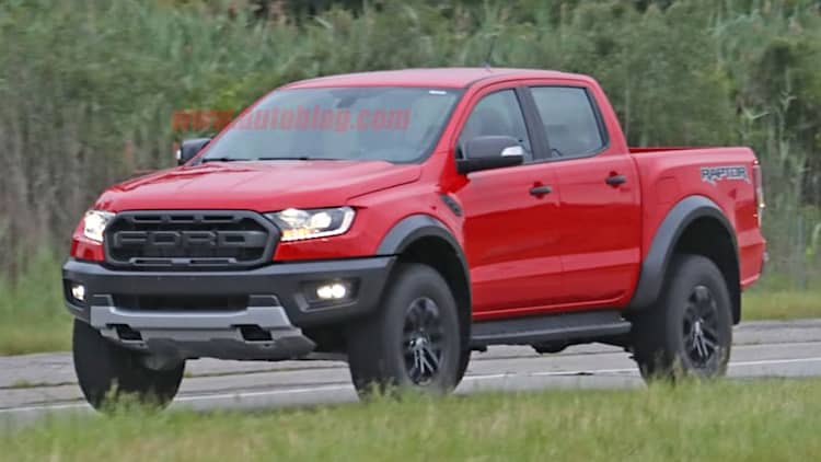 Video shows 2019 Ford Ranger Raptor looking rad in red
