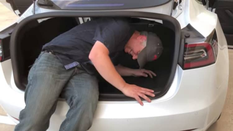 Watch Tesla Model 3 explored in close detail