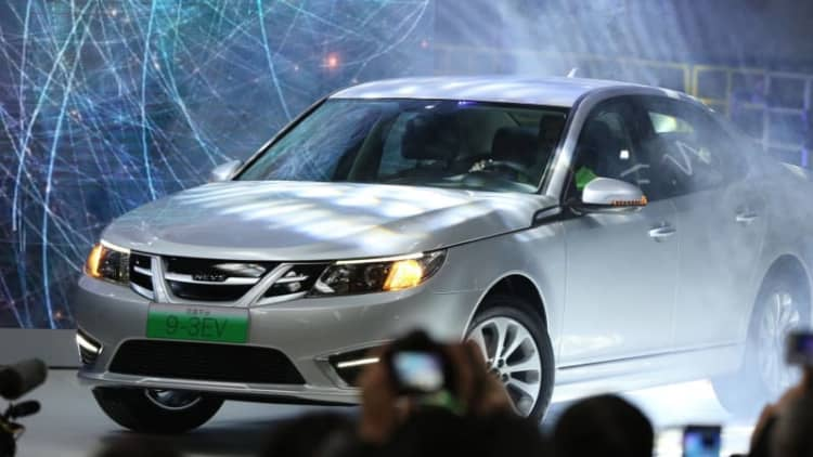 NEVS, the company that took over Saab, gets new majority owner