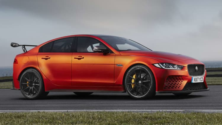 The Jaguar XE SV Project 8 looks like an XE, but is almost completely new