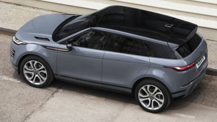 2020 Land Rover Range Rover Evoque will get full plug-in hybrid option