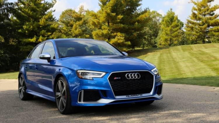 2017 Audi RS3 Drivers' Notes | Blue banshee