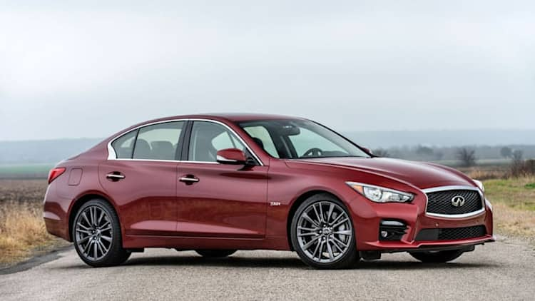 The yin and yang of the 2017 Infiniti Q50 Red Sport 400
