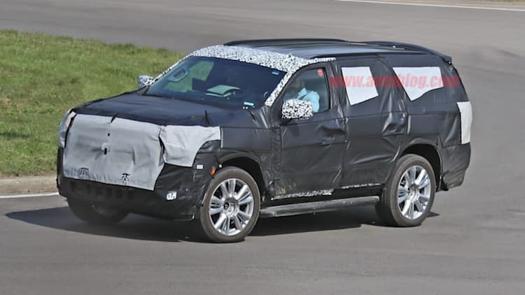 2020 Chevy Tahoe spied with independent rear suspension